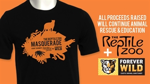 Picture of The Reptile Zoo Masquerade T-Shirt